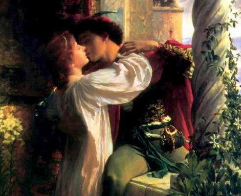 Romeo et Juliette tableau de Franck Dicksee