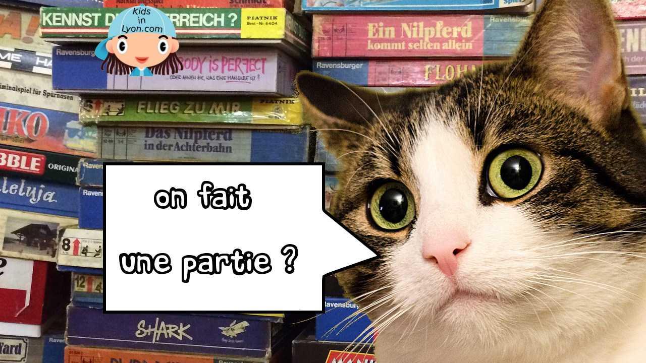 Ludothèque jeux chat