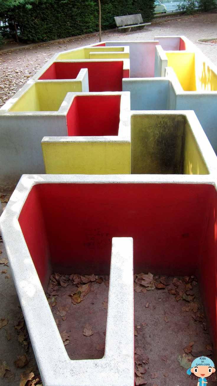 Labyrinthe jardin des tout-petits
