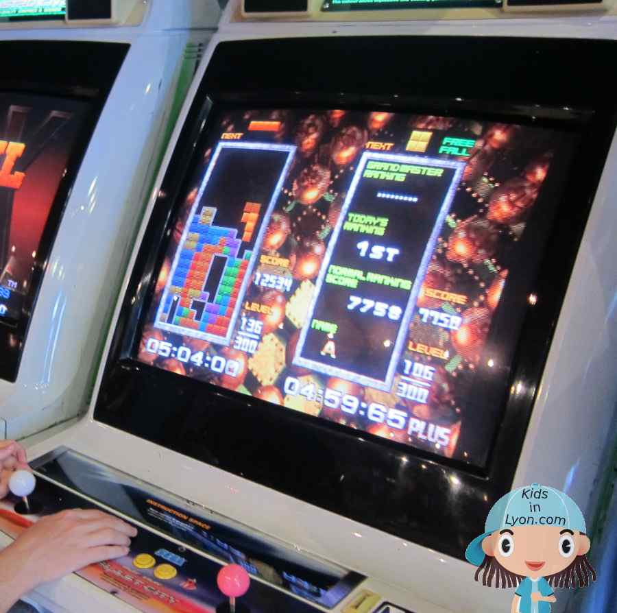 Tetris arcade