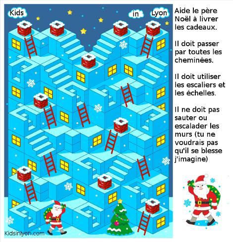 Kidsinlyon jeu père Noël